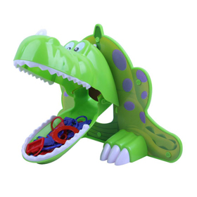 3D children ABS cartoon dinosaur toy